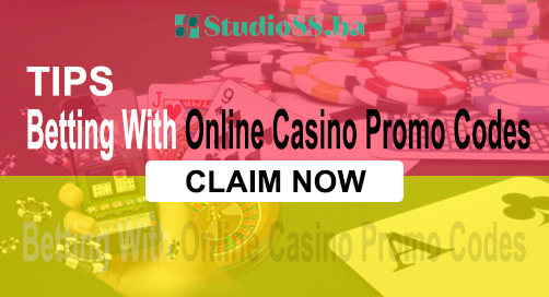 Tips For Betting With Online Casino Promo Codes
